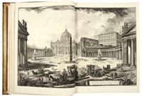 vedute di roma [with] topografia delle fabriche scoperte nella città di pompeii by giovanni battista piranesi